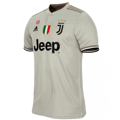 hot sale online dabac ee7a4 18-19 Juventus Away Gray Soccer Jersey Shirt