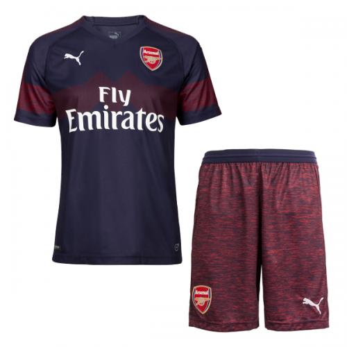 405cafcdf23 18-19 Arsenal Away Navy Soccer Jersey Kit(Shirt+Short) - Cheap ...