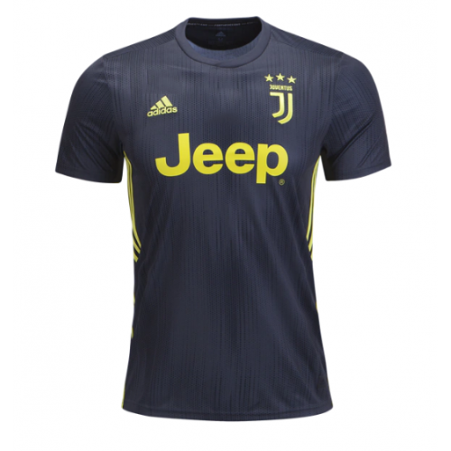 a2ac29908c3 ... 18-19 Juventus Third Away Black Soccer Jersey Shirt(Player Version)
