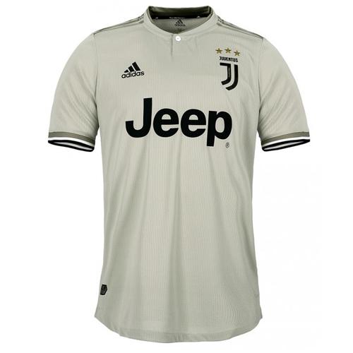 f24c98bca 18-19 Juventus Away Gray Soccer Jersey Shirt(Player Version) - Cheap ...