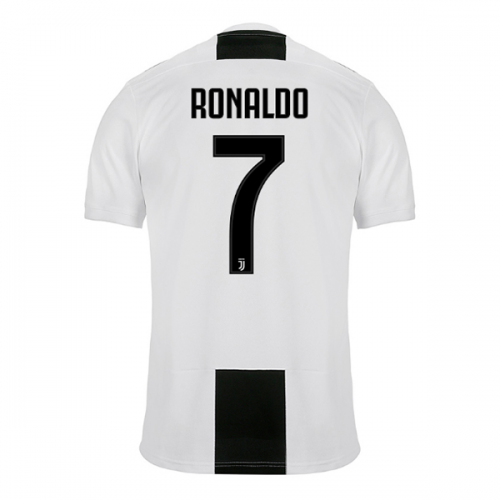 best website 063ef b0c37 18-19 Juventus Home RONALDO #7 Soccer Jersey Shirt