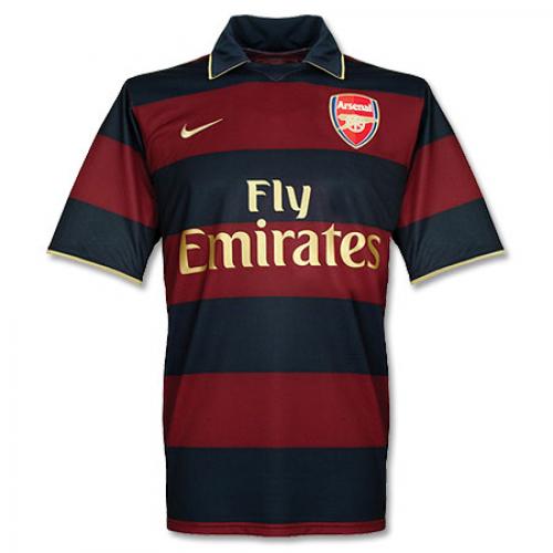 free shipping 08802 8ec81 07-08 Arsenal Third Away Retro Soccer Jerseys Shirt