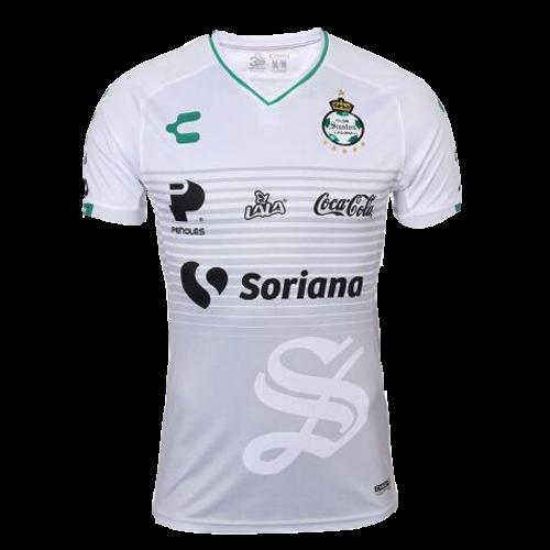 f6d196bba 18-19 Santos Laguna Third Away White Soccer Jerseys Shirt - Cheap ...