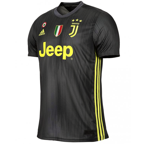 1cb020be916 18-19 Juventus Third Away Black Soccer Jersey Shirt - Cheap Soccer ...