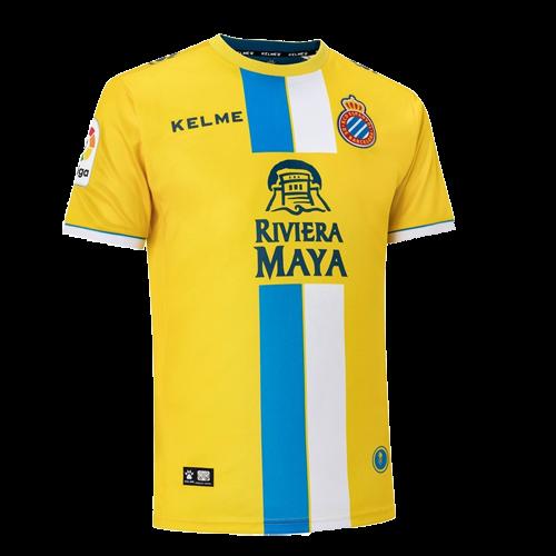 2718b47e6 18-19 RCD Espanyol Third Away Yellow Soccer Jerseys Shirt - Cheap ...