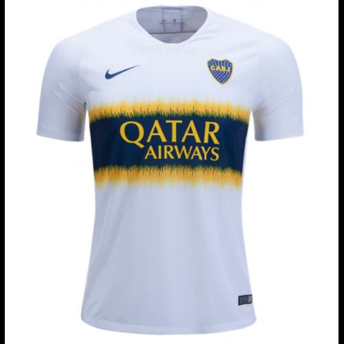 the latest f863d 39320 18-19 Boca Juniors Away White Soccer Jersey Shirt