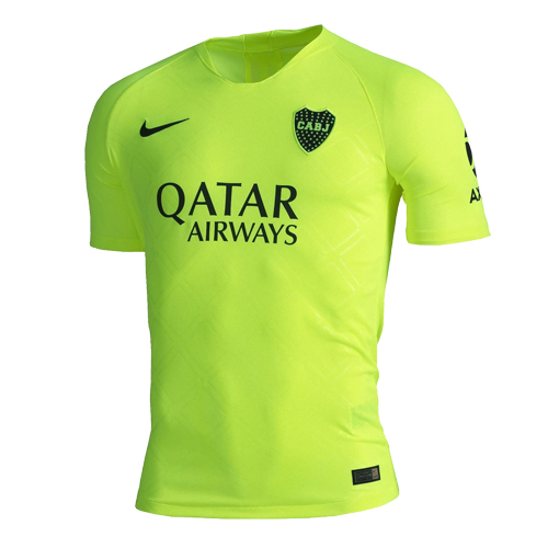 outlet store d619e 026e8 18-19 Boca Juniors Third Away Green Soccer Jerseys Shirt