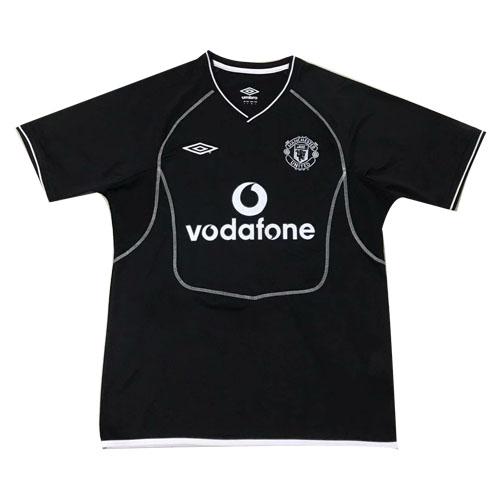 c6894ec18c8 00-01 Manchester United Goalkeeper Black Retro Jerseys Shirt - Cheap ...