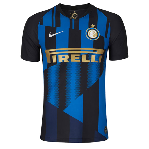 6a6eb4f648c 18-19 Inter Milan 20th Anniversary Home Jerseys Shirt - Cheap Soccer ...