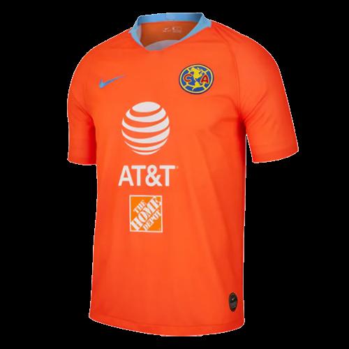 1822c0e541f 2019 Club America Third Away Orange Soccer Jerseys Shirt - Cheap ...