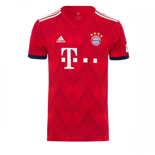 online store 45956 7121d 18-19 Bayern Munich Home Jersey Shirt