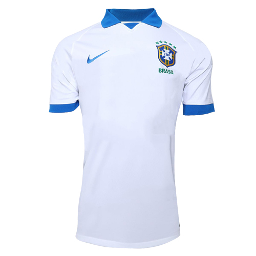 488fc66ce 2019 Brazil Away White Soccer Jerseys Shirt - Cheap Soccer Jerseys ...