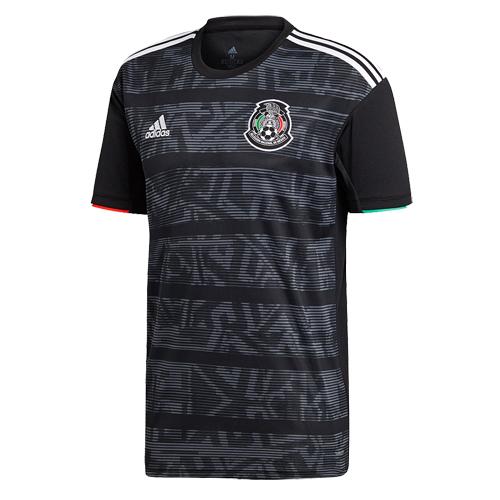 e54af166c 2019 Mexico Gold Cup Home Black Soccer Jerseys Shirt - Cheap Soccer ...