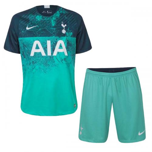c8880de05b5 ... 18-19 Tottenham Hotspur Third Away Green Jersey Kit(Shirt+Short)