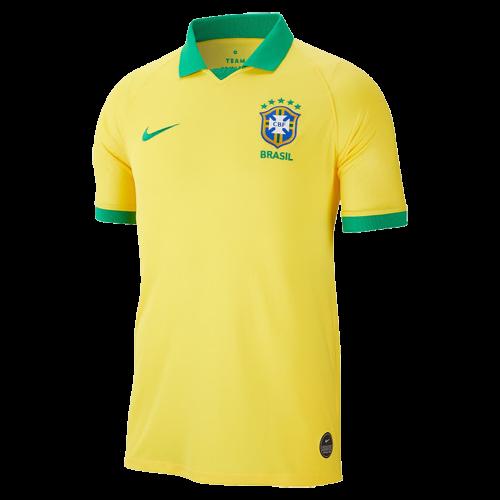 a2c7caadaeb 2019 Brazil Home Yellow Soccer Jerseys Shirt - Cheap Soccer Jerseys ...