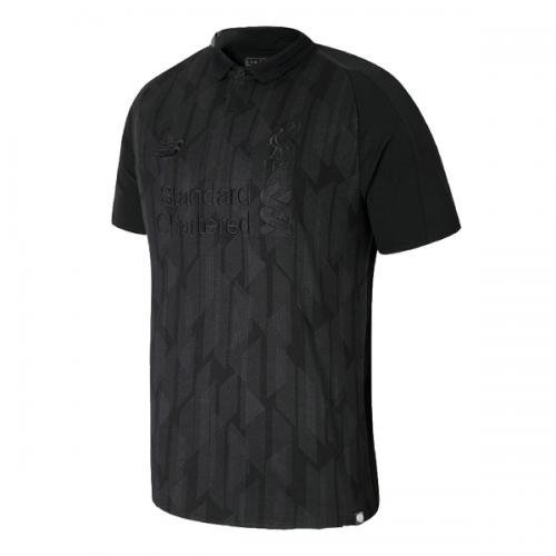 newest f5ca9 6aab3 18-19 Liverpool Blackout Soccer Jerseys Shirt