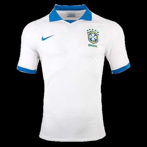 87448d6a7e7 2019 Brazil Away White soccer Jerseys Shirt(Player Version) - Cheap ...