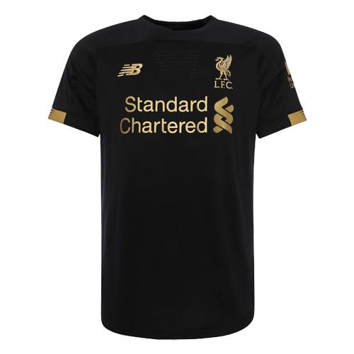 best service 7c55a abe34 19-20 Liverpool Goalkeeper Black Soccer Jerseys Shirt