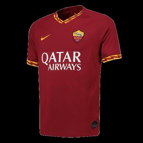 19 20 Roma Home Red Soccer Jerseys Shirt Cheap Soccer Jerseys
