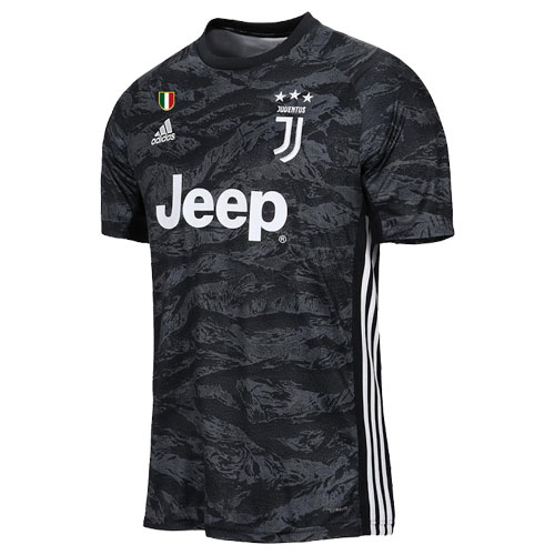 detailed look 510ee 524c7 19-20 Juventus Goalkeeper Black Soccer Jersey Shirt