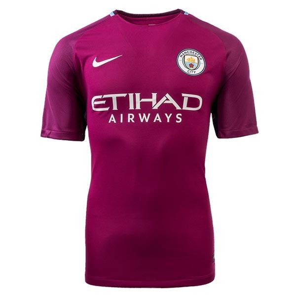 best service 7ebcd 45757 17-18 Manchester City Away purple Soccer Jersey Shirt