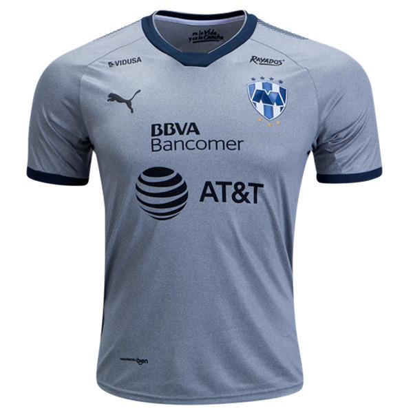 huge discount 9b7b5 117f3 2018 Monterrey Third Away Gray Soccer Jersey Shirt