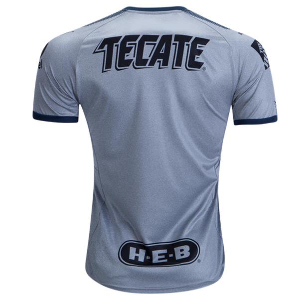 huge discount 296da e81de 2018 Monterrey Third Away Gray Soccer Jersey Shirt