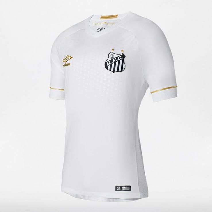 062acd1f7 Santos Home 18   19 FUSSBALL SHIRT SOCCER FOOTBALL JERSEY BNW – www ...