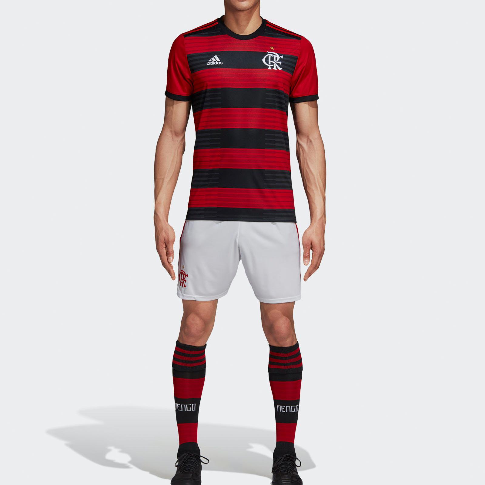 0907b5669 CR Flamengo HOME 18   19 FUSSBALL SHIRT SOCCER FOOTBALL JERSEY BNW ...