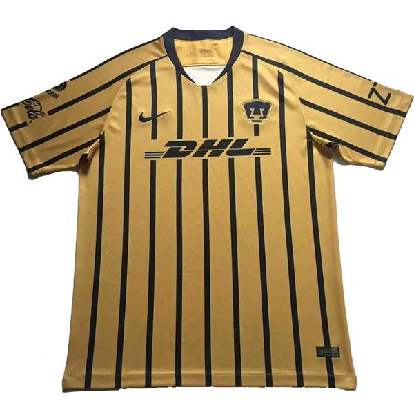 brand new 2769b ee8e2 18-19 UNAM Pumas Away Gold Soccer Jersey Shirt