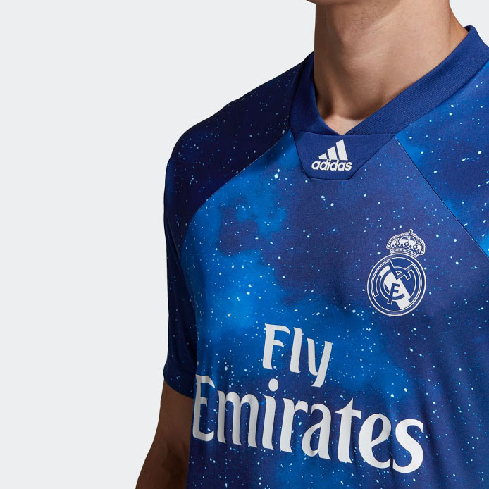 515e1ddd48d 18-19 Real Madrid EA Sports Blue Jersey Shirt - Cheap Soccer Jerseys ...