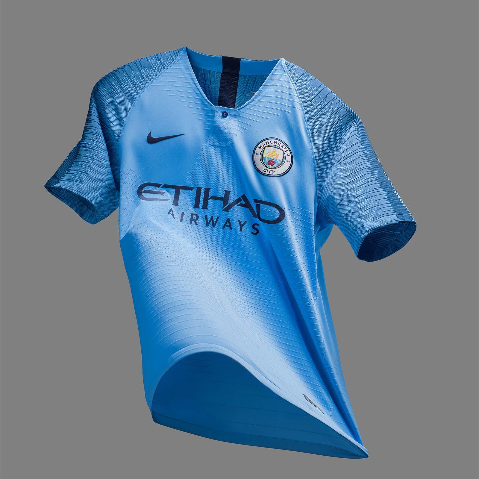 huge discount 4c122 d1608 18-19 Manchester City Home Jersey Shirt
