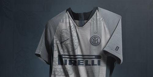 18-19 Inter Milan Third Away Gray Soccer Jersey Shirt - Cheap Soccer ... 77982f08a