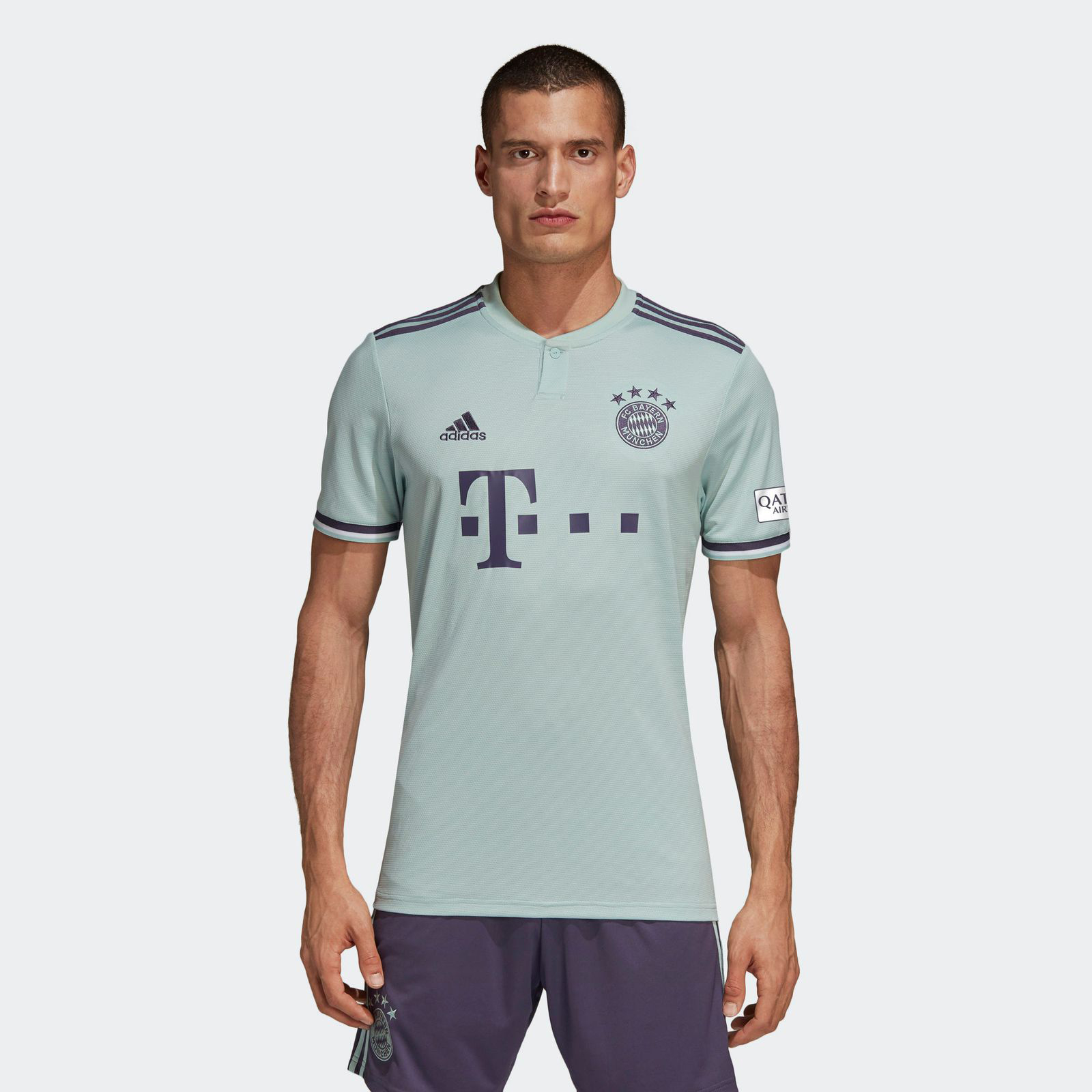 half off 789c7 65b4d 18-19 Bayern Munich Away Mint Green Jersey Shirt - Cheap ...