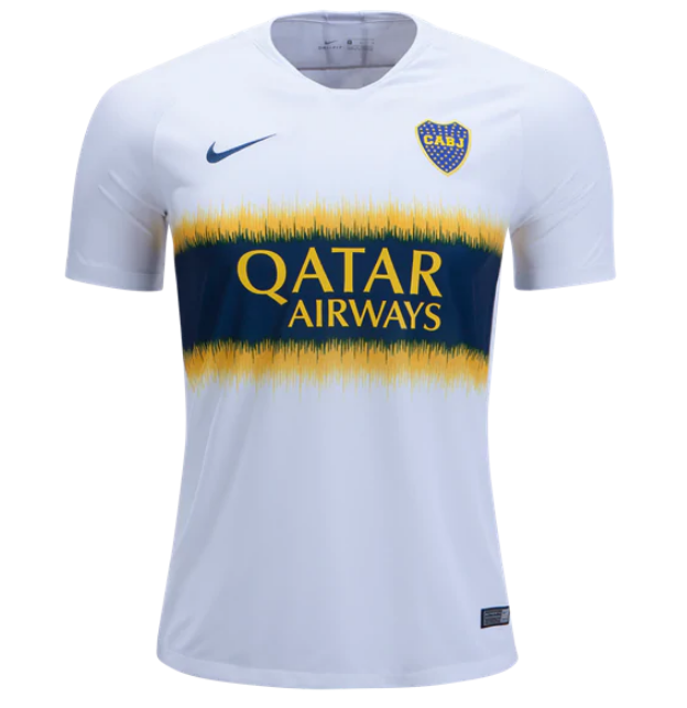 1449487c8ef 18-19 Boca Juniors Away White Soccer Jersey Shirt - Cheap Soccer ...
