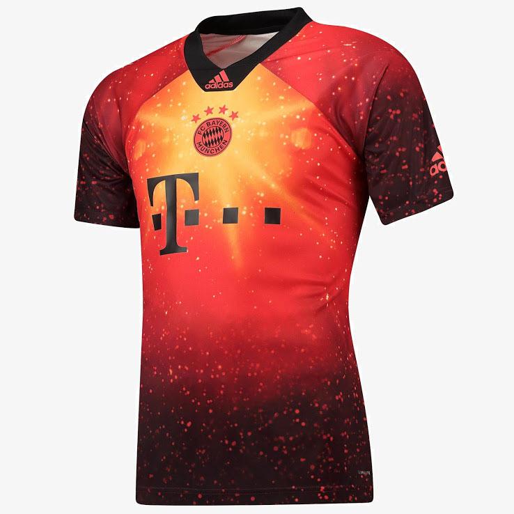 wholesale dealer d9847 f799b 18-19 Bayern Munich EA Sports Brown Jersey Shirt