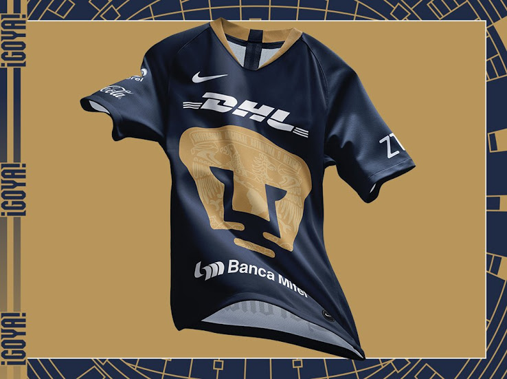 fc9ab2c4b Mexican club Pumas just released its new 2019 third kit, which will be  debuted in the 2019 Clausura.