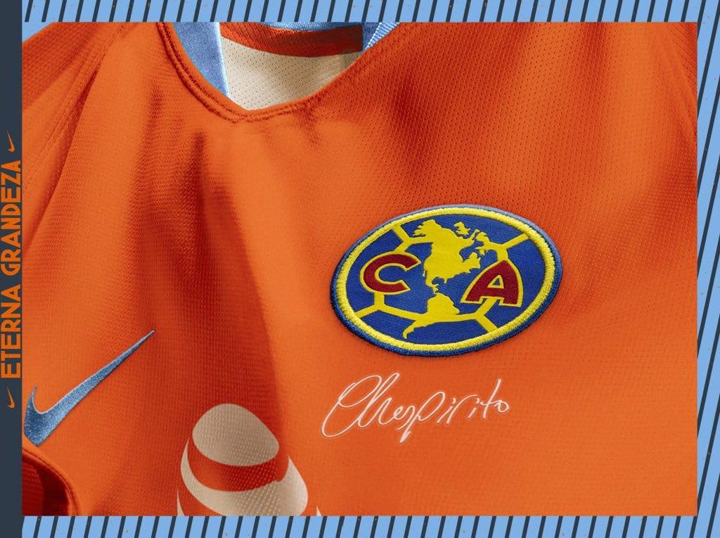 huge selection of b2789 9e669 2019 Club America Third Away Orange Soccer Jerseys Shirt