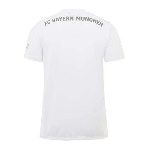 outlet store b7f13 f7dc6 19/20 Bayern Munich Away White Jerseys Shirt