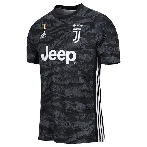 detailed look dbf42 56166 19-20 Juventus Goalkeeper Black Soccer Jersey Shirt